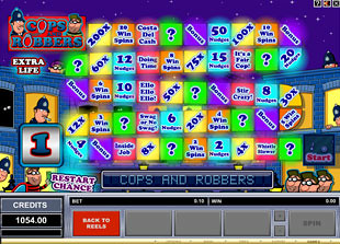 online casino no deposit cops and robbers slots