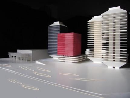 Torres del proyecto Porta Firal