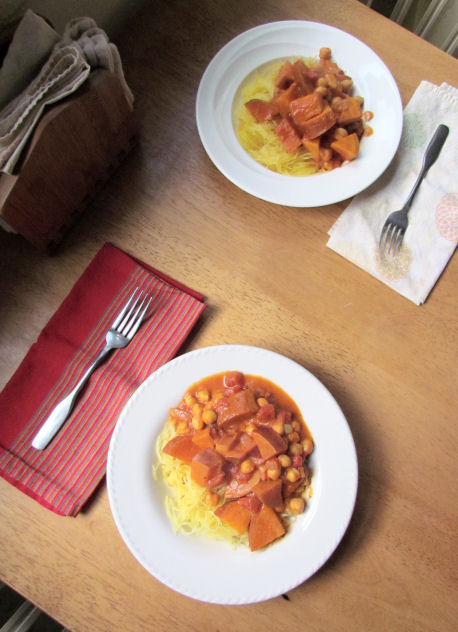 Sweet Potato Curry for Two
