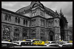 Waiting (osbo) Tags: germany waiting taxi nuremberg taxis hauptbahnhof osbo