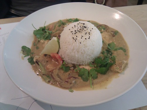 Londres | Wagamama | Chicken Raisukaree