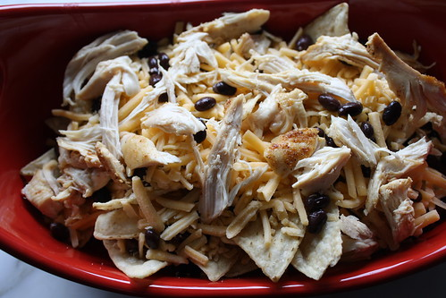 Roasted Chicken Nachos
