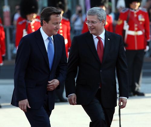 Prime Minister David Cameron visits Ottawa