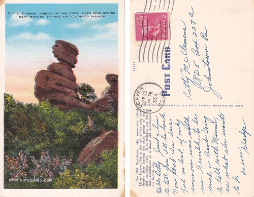 Old Scotchman - Garden of the Gods