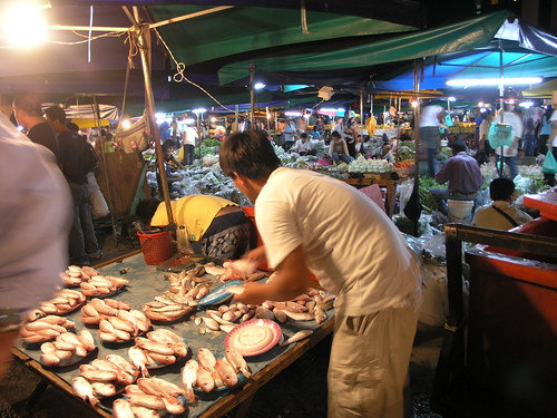 Fish Market in Malaysia, photo by Jamie Oliver, 2007