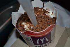 Mcflurry (stazography) Tags: drive chocolate sunday mcdonalds mcflurry through bubbl