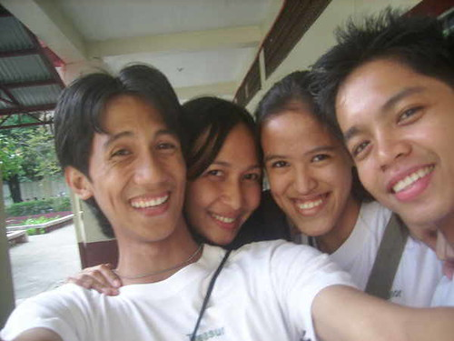 Jaypee, Lecel, Mica and Edmon as college students (2006)
