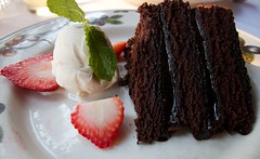 Old Fashioned Chocolate Cake (Mike Weekes Jr.) Tags: food yummy yum desserts delicious 7d scrumptious yumyum extraordinary comfortfood sweettooth mouthwatering tantalizing comfortdesserts