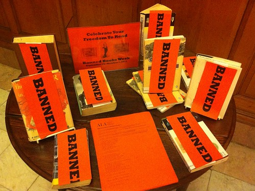 Banned Books Week Display