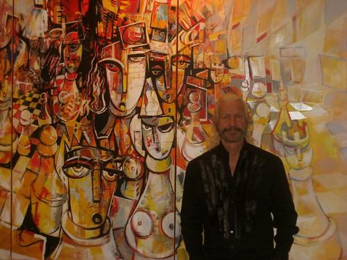 Paul Ygartua presenting Neo Cubism Art Style