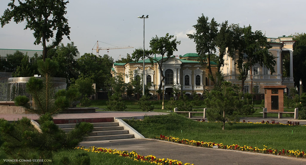Parc de Tamerlan : très beaux édifices