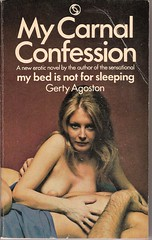 My Carnal Confession - Tandem book cover (Covers etc) Tags: girl naked design paperback topless bookcover 1970s c0ver