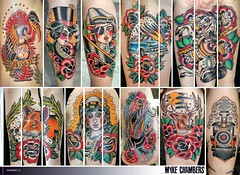 myke2 (Myke Chambers Tattoos) Tags: tattoo magazine kat d von prick katvond tattoomagazine rebelink mykechambers