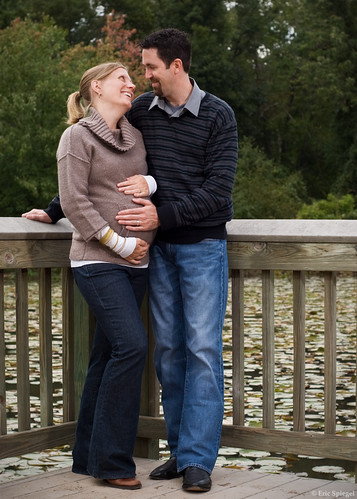 6175681360 50bc757022 Maternity Portrait Session: Mike & Naomi | Walney Pond