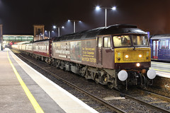 47826 1Z54 Exeter St Davids 23/09/11. (Dan's Railway Gallery) Tags: night devon exeter railtour class47 westcoastrailway lhcs