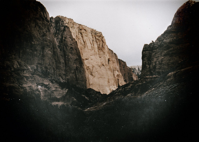 1990 Zion National Park, Utah, Film post processed