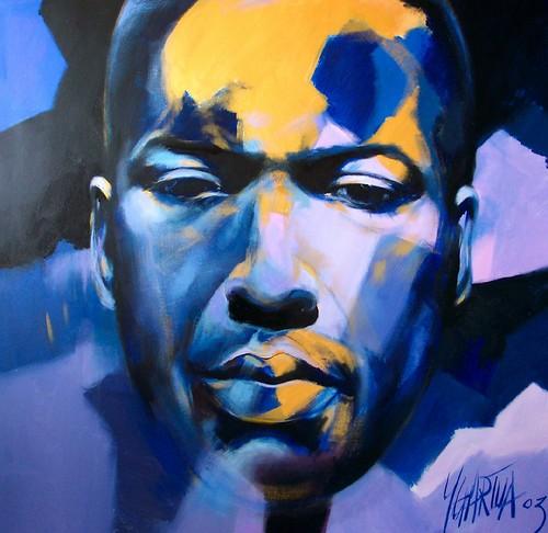 John Coltrane - Painting