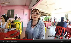 Hosting Catherine Bell from New Zealand food magazine, Dish, in Melaka
