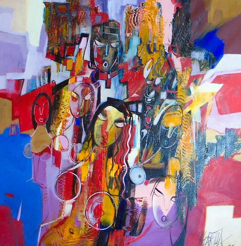 The Dream - Painting - Abstract Expressionism