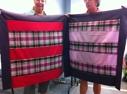 Pendleton Wool Baby Quilt - 2 tops!