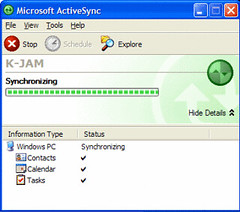 ActiveSync: Sincronizador e Intercambio de Datos para Windows