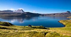 Reykjarfjörður á Ströndum (icecold46) Tags: blatt speglun strandir fjordur reykjarfjördur eydibyli fjoll