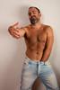 Handshake?? (The L World) Tags: bear man male beard model hand pants chest manos modelo jeans mano trunk handshake torso packet hombre barba bulge vaqueros pantalon paquete masculino apreton
