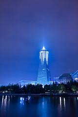 杭州西湖文化广场,环球中心HANGZHOU WEST LAKE CLUTURE PLAZA,GLOBAL CENTER (pangzihu) Tags: building night sigma 夜景 杭州 dp1 hanghzou 适马 dp1s