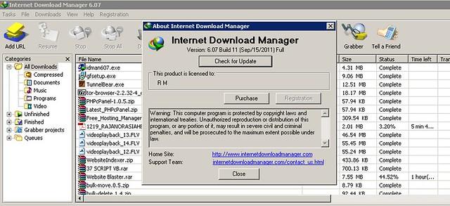 internet download manager idm 6.07 русский crack