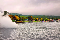 Lake George Fall is Coming (jeeprider) Tags: mountains boats landscapes autum lakes adirondacks lakegeorge elementsorganizer