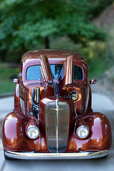 1936 Chevrolet (rianklong) Tags: auto red usa blur classic chevrolet car vintage woodland washington restore restored wa canonef70200mmf28lisusm canoneos5dmarkii canon5dmarkii