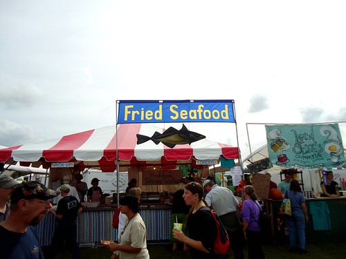 seafood. eat food.