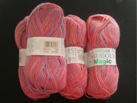 "Stash: Sirdar ""Snuggly Magic"""
