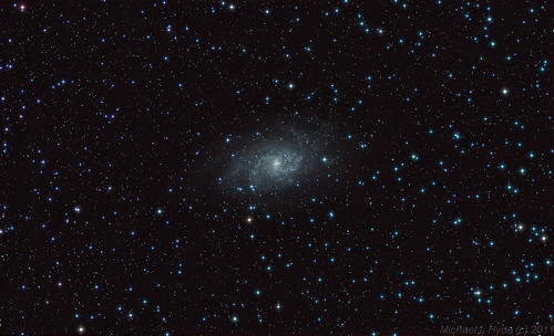 M33 wide-field view 270911 by Mick Hyde
