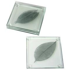 Shrieking Violet Silver Leaf Onderzetters (contemporaryheaven3) Tags: silver leaf violet shrieking onderzetters