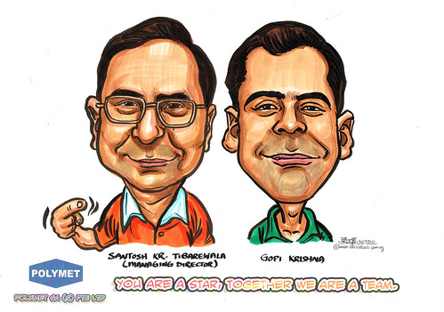 Caricatures for Polymet - 5
