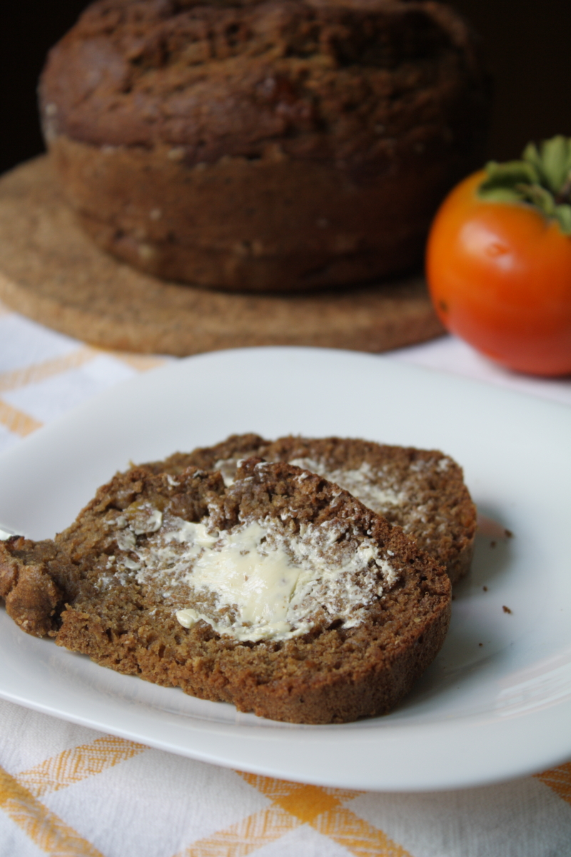 Autumn Persimmon Bread