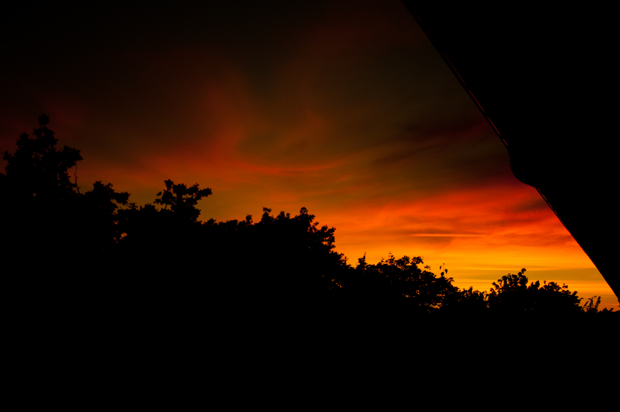 Sunset from my window