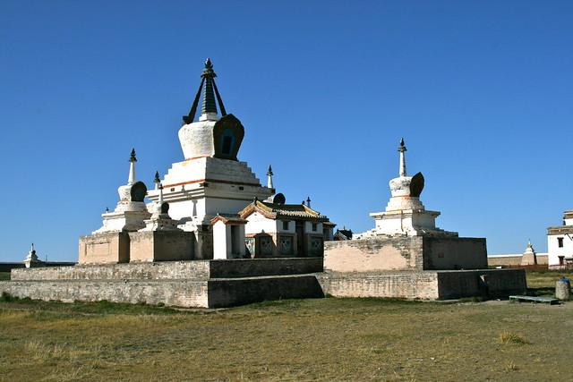 Main Stupa, Erdene Zuu Monastery