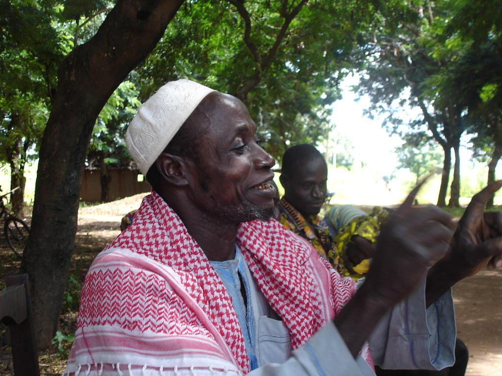 Leader paysan Togo