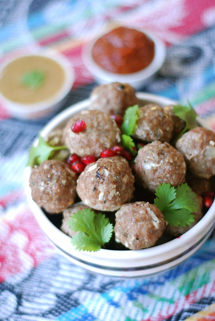 Abhazura e Gruusia hakklihapallid/Georgian meat balls