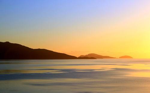 Serene Sunrise in Hamilton Island, Australia