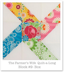 Farmer's Wife Quilt-a-Long - Block 9