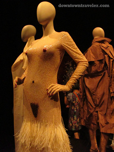 Jean Paul Gaultier naked dress at Montreal Musee des Beaux Arts