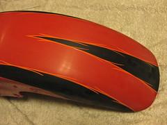 Pinstriping (Marius Mellebye / 276ccm) Tags: paint fender harleydavidson custom oneshot bagger mariusmellebye 1shot 276ccm