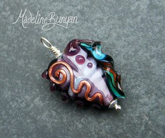 """Heart Pendant with Fin • <a style=""""font-size:0.8em;"""" href=""""https://www.flickr.com/photos/37516896@N05/6194422897/"""" target=""""_blank"""">View on Flickr</a>"""