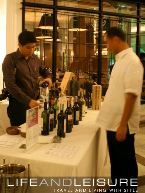 Straits Wine Company-Enderun Wine Tasting