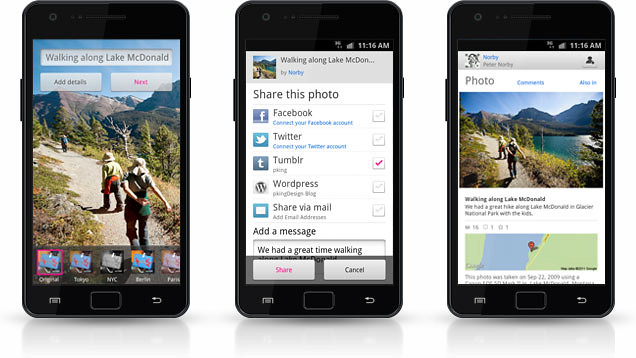 Flickr Launches Android App To Rival With iPhone-only Instagram