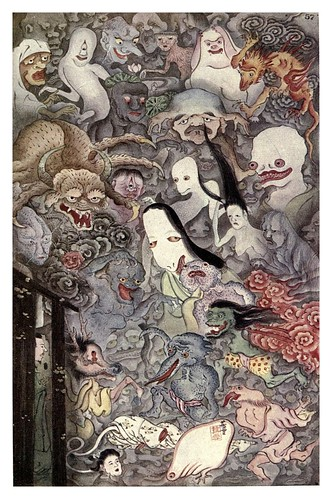 003-La procesion de los fantasmas-Ancient tales and folklore of Japan-1908-Mo-No-Yuki