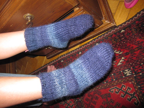 Dev's handspun socks